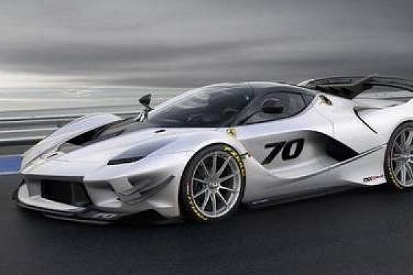 Automotivo Últimas notícias Ferrari mostra brutal FXX-K Evo de corrida em Mugello