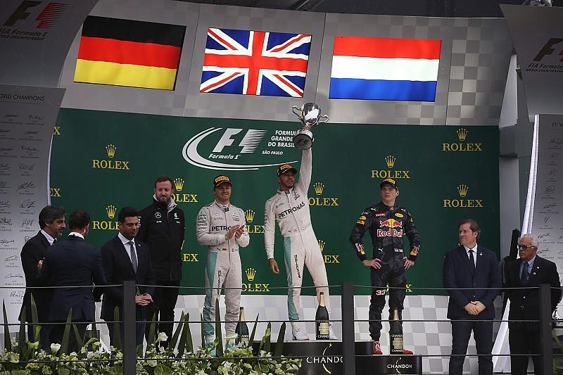 GALERÍA: los números de Hamilton con Mercedes