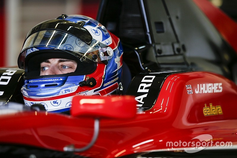 Hughes eyes chance to join British single-seater elite