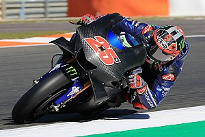 MotoGP Test raporu Valencia testinin ilk gününde Vinales lider, Rossi kaza yaptı