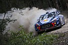 WRC Mikkelsen pierde el liderato en Australia por un doble pinchazo