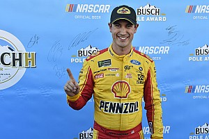 Joey Logano tops Almirola for Martinsville pole