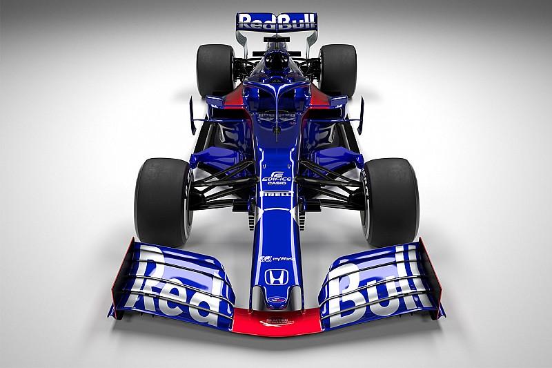 Новая машина Toro Rosso в деталях: первые изображения STR14