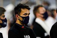 """Red Bull: Albon está """"mais perto de Verstappen do que Gasly"""" estava em 2019"""