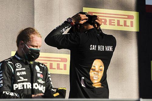 FIA verbiedt dragen t-shirts met boodschappen tijdens podium