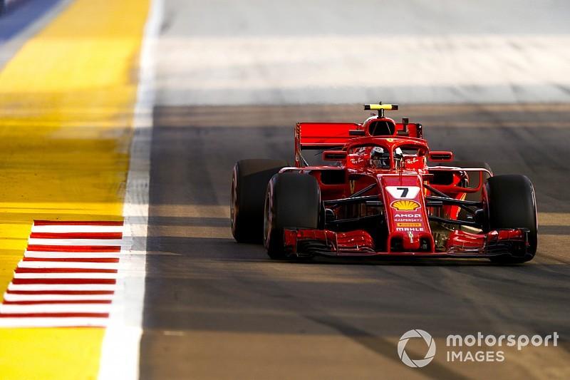 Singapur GP 2. antrenman: Raikkonen lider, Vettel sorun yaşadı