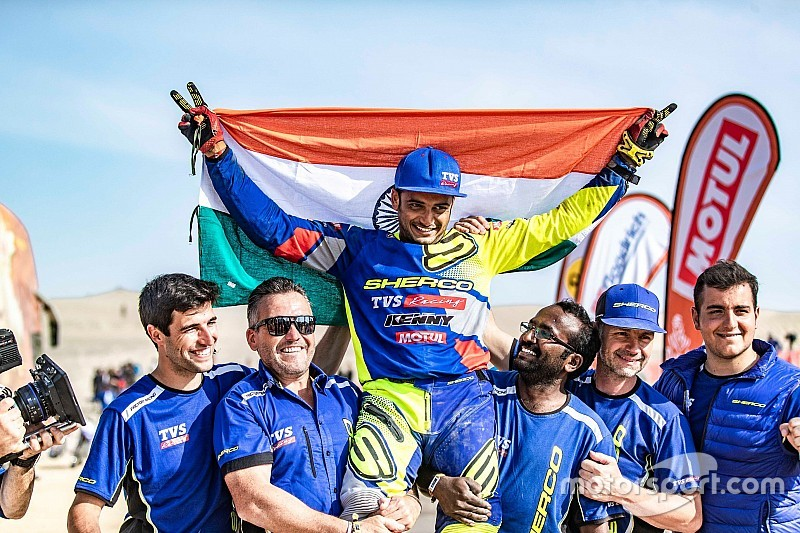 Dakar 2019 review: Highs and lows for Hero and Sherco TVS