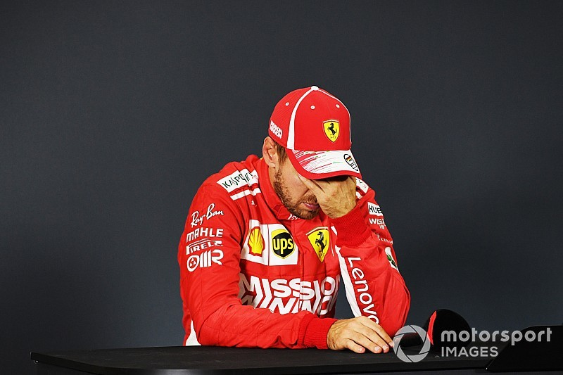 La saison 2018, peut-être la plus dure pour Vettel