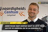 Indy Dontje jaagt in 2019 op Amerikaans succes en podia in 24-uursraces