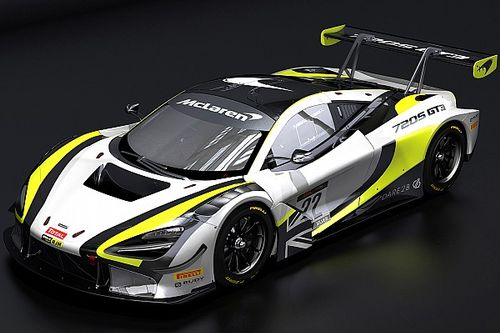 Button's GT team switches from Honda to McLaren machinery