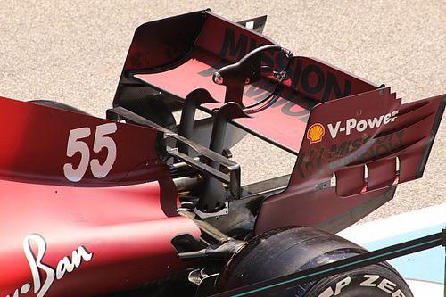Технический брифинг: Ferrari привезла в Испанию заднее крыло для Монако