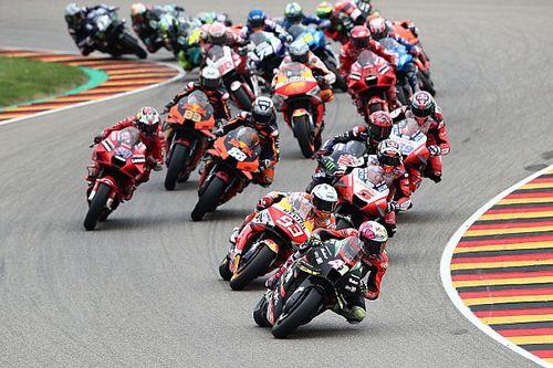WK-stand na de MotoGP Grand Prix van Duitsland