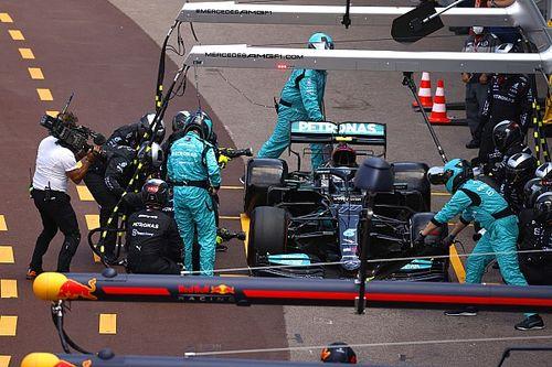 """Bottas regrette une """"grosse erreur"""" de Mercedes dans les stands"""