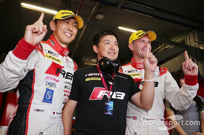 GT300予選:タイの空を攻略した柳田真孝。会心のチーム初ポール獲得