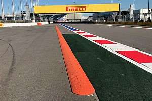 Speed bumps added to Turn 2 at Sochi