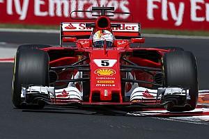 F1 Reporte de prácticas Vettel voló en Hungría antes de la clasificación