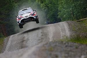 WRC Новость Латвала сошел в Финляндии из-за поломки машины