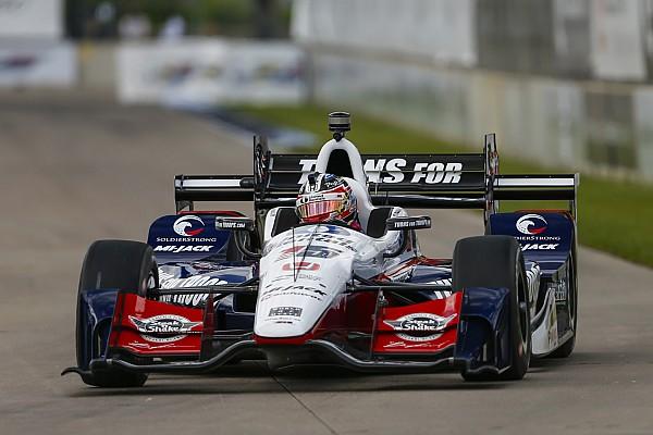 IndyCar Detroit IndyCar: Rahal 1. yarışı domine etti