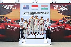 Formula 4 SEA Race report F4/SEA Buriram: Lanjutkan performa positif, Presley juarai Race 6