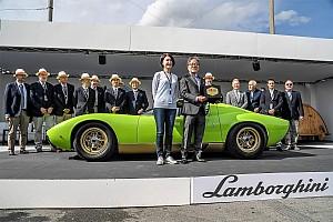 Vintage Ultime notizie Neuchâtel capitale Lamborghini per un fine settimana!
