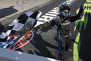 NASCAR Truck Race report Bell takes Loudon Truck win after late-race battle with Ryan Truex