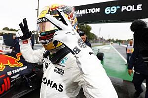 F1 排位赛报告 意大利大奖赛排位赛:大雨难阻汉密尔顿打破杆位纪录