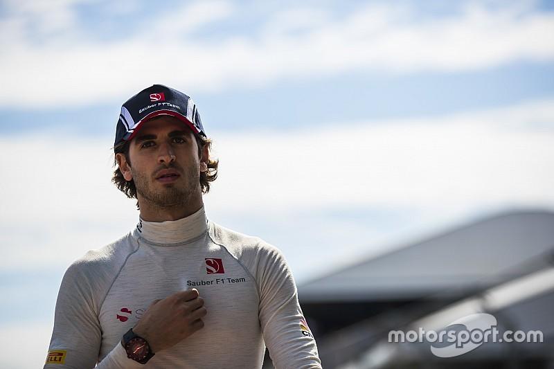 【F1】ザウバー、急遽デビューのジョビナッツィに「とても驚いた」