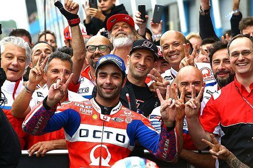 """Petrucci: """"Era más rápido que Rossi, pero me molestaron los doblados"""""""