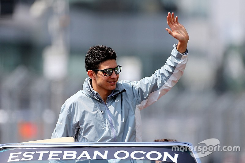 Force India signs Ocon on multi-year deal