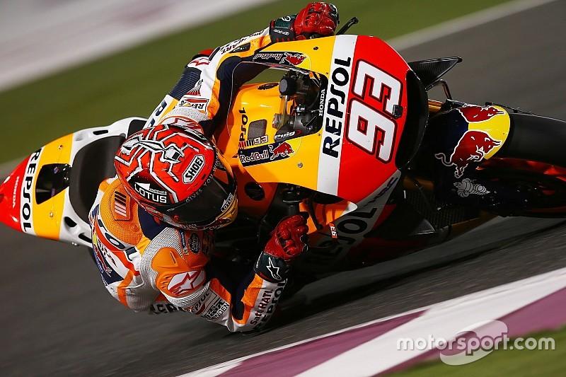 Маркес пожаловался на непредсказуемое поведение мотоцикла