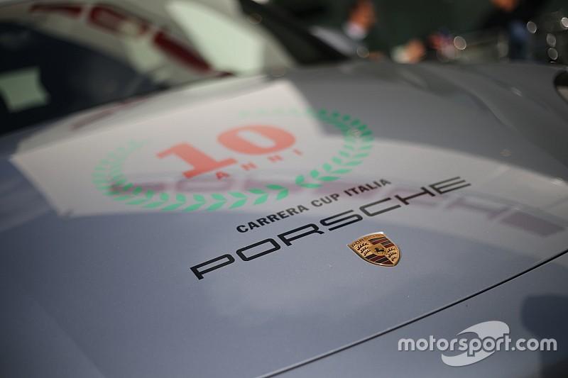 Inizia la giornata nel paddock della Carrera Cup Italia