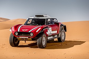 Dakar Breaking news Mini reveals new buggy for 2018 Dakar Rally