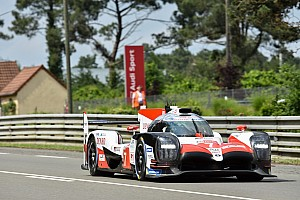 Le Mans Practice report Le Mans 24h: Toyota 4s clear of privateers in warm-up