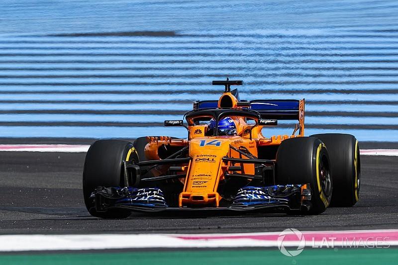 Алонсо стривожився через слабкий виступ McLaren у Франції