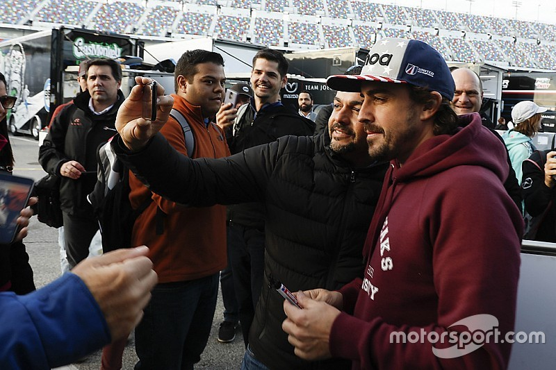 Alonso: Rolex 24 atmosphere
