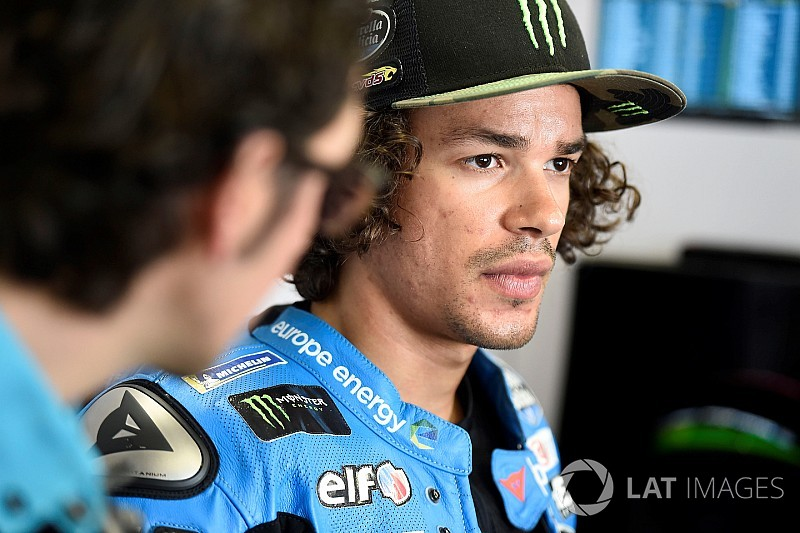 Morbidelli ruled out of Dutch TT after crash