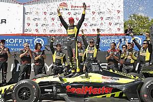 IndyCar Jelentés a versenyről A legvégén jött a dráma az IndyCar szezonnyitóján, Bourdais nyert St. Pete-ben!