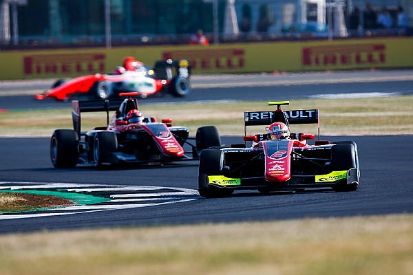 Silverstone GP3: Hubert takes maiden pole