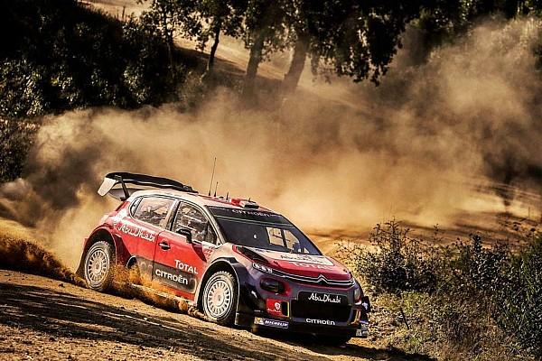 WRC Diaporama Photos - Sébastien Loeb teste la Citroën C3 WRC sur terre