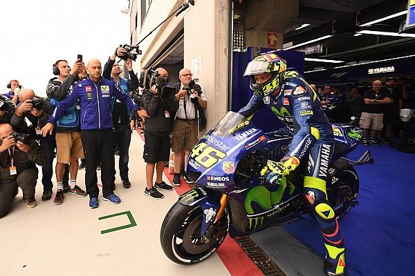 MotoGP 速報ニュース ロッシ、アラゴンで復活。初日FP走行も「決勝前にドライで走りたい」