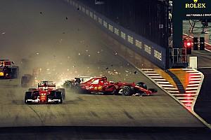 Ricciardo örül, hogy elrontotta a rajtot, mert ő is kieshetett volna