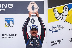 Formula Renault 比赛报告 叶一飞首登雷诺方程式领奖台