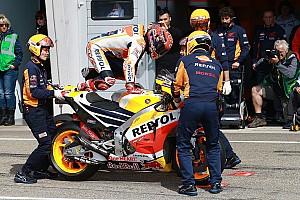 MotoGP Noticias de última hora Márquez y Pedrosa prueban un nuevo chasis en Brno