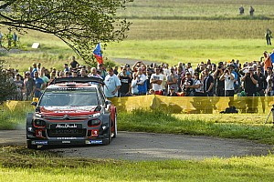 WRC Etappeverslag WRC Duitsland: Mikkelsen leidt halverwege tweede dag