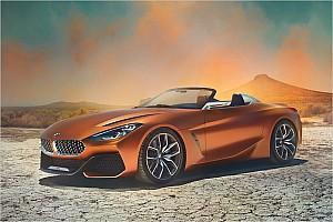 Automotive News BMW präsentiert Designstudie von neuem Z4-Roadster