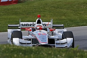 IndyCar Qualifying report Mid-Ohio IndyCar: Power beats Newgarden to pole