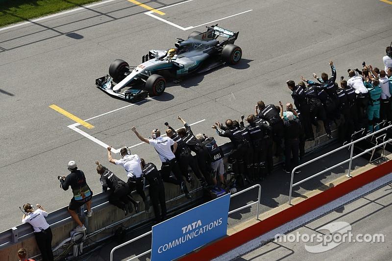 Работа без выходных после Монако помогла Mercedes победить в Канаде