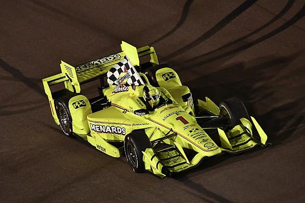 IndyCar IndyCar Phoenix: Pagenaud pakt op gelukkige wijze eerste oval-zege