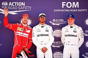 Formula 1 Hasil Grid start balapan GP Spanyol 2017