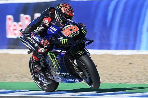 Боль в руке лишила Куартараро победы в гонке MotoGP в Хересе